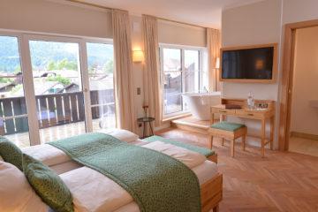 Hotelzimmer Hotel Garmischer Hof.