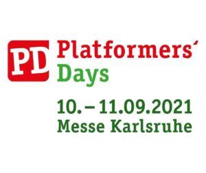 FM auf der Messe Platformers Days 2021 in Karlsruhe