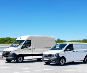 Transporter über Leasing und Mietkauf finanziert